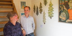Sara och Sven Hillert fyller sin gård, Kolonin i Karsjö, med olika sorters kulturkrockar.