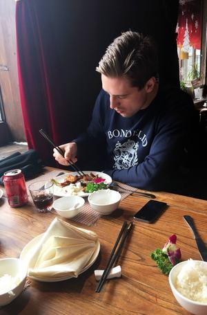 Daniel Bäck briljerade med pinnarna.