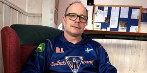 Bollnäs klubbchef Robban Lindgren.