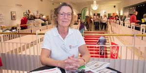 Carina Brännäng, anhörigsamordnare i Nynäshamns kommun, är en av arrangörerna av Seniordagen.