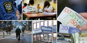 Trots ett tufft ekonomiskt läge innehåller budgeten rekordstora investeringar i bland annat nya förskolor, skolor och ett kultur- och bildningscenter som ersätter det nuvarande stadsbiblioteket.