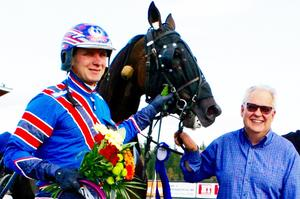 Tomas Pettersson firade flera triumfer på Bollnästravet.