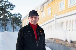 Stefan Färlin, Mittia AB, oroas av Trafikverkets planer på en ny genomfart.
