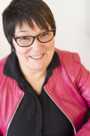 Karin Edman är ordförande i Hudiksvalls Affärskvinnor. Foto: Sabina Wixner
