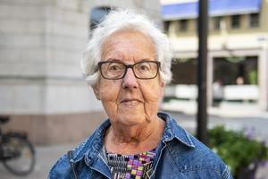 Anita Östlund, 81 år, pensionär, Sundsvall.