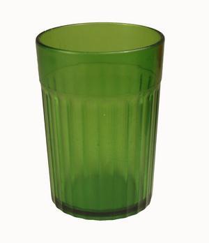 Kristallonglasen fanns i olika färger. Bild:privat
