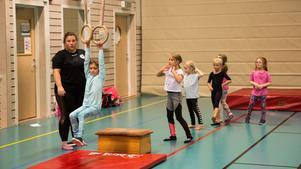 Även barngrupperna kommer inta golvet och visa upp sina akrobatiska konster.