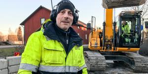 Jonas Henborg från Avesta vatten och avfall.