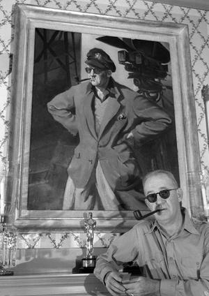 John Ford 1946. Den amerikanske filmskaparen förekommer som en vis man i Peter Handkes roman