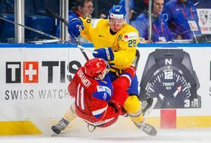 Fabian Zetterlund under JVM i december. Bild: AP.