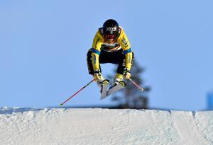 Sandra Näslund var återigen snabbast under fredagens kval.