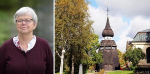 Deisy Hellsén (bilden) och Gun-Marie Swessar kandidater i kyrkovalet för Centerpartiet.