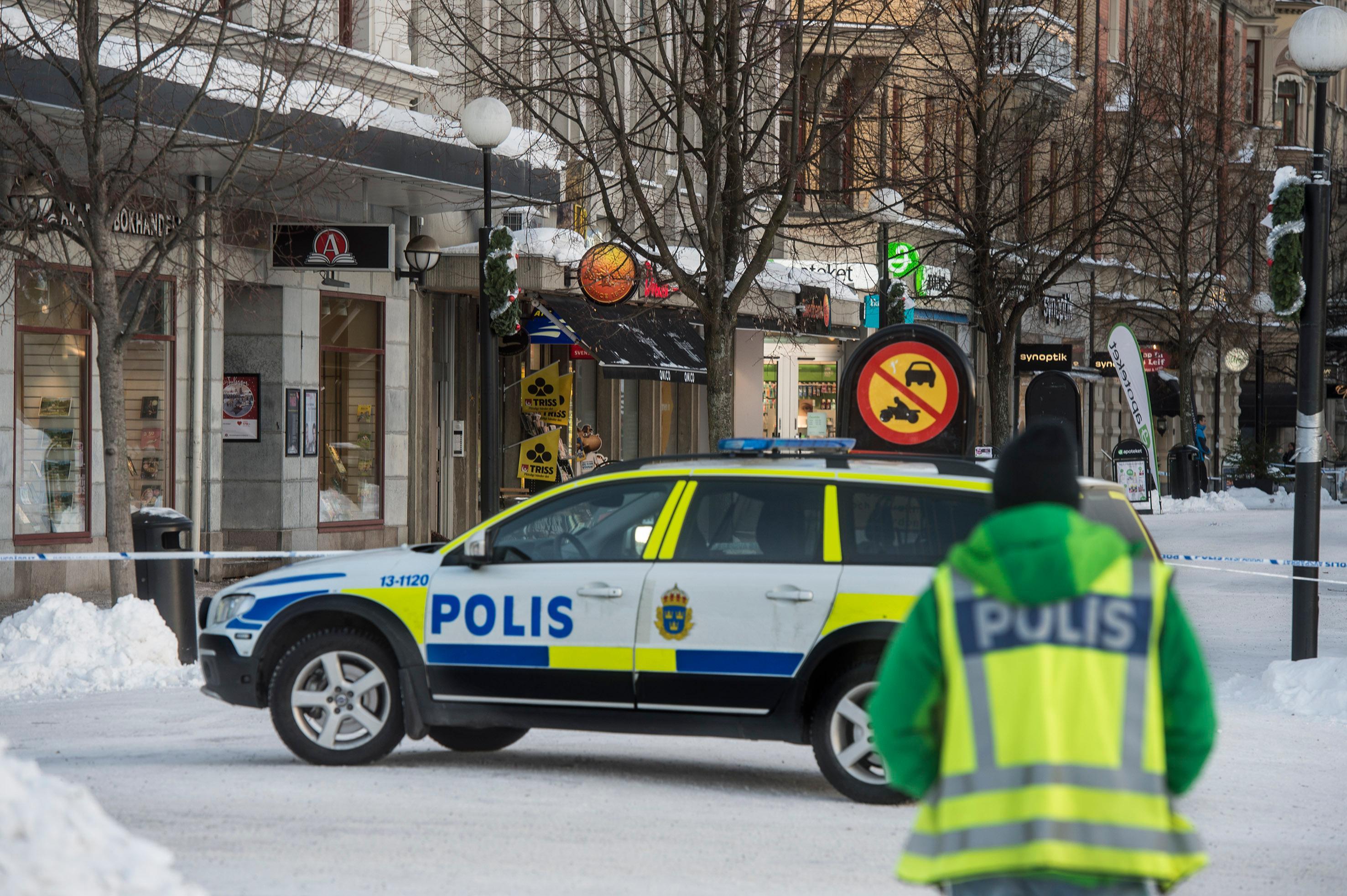Bombhot mot bank i sundsvall