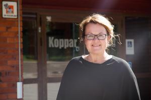 Sari Johansson säger att det finns ett stort samförstånd mellan personalen och eleverna på skolan.