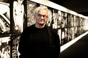 Anders Petersen visade fotokonst på Magasinet i Falun.