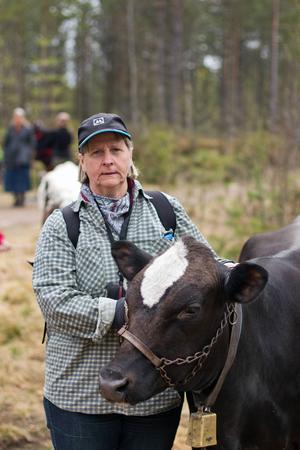 Anna-Britta Henriksson och Stjärna.
