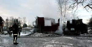 Den 3 januari brann ett bostadshus och en lagårdsbyggnad ner till grunden vid en storbrand i Västerby.