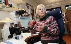 Eva Lind, cytodiagnostiker.
