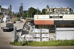 Byggvaruhuset XL-Bygg Forsell i Bollnäs.