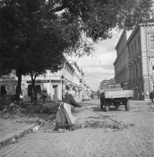 Hösten 1937 svepte en storm över Gävle.