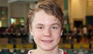 Erik Forström tog tre guld och ett silver i UGP.