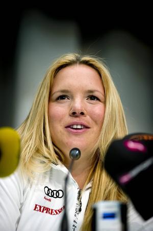 Anja Pärson får nobben av SVT:s Vinterstudion.