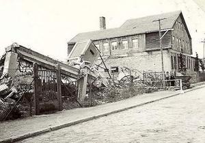 Tyskarna led under andra världskriget svårt av flygbombningarna.