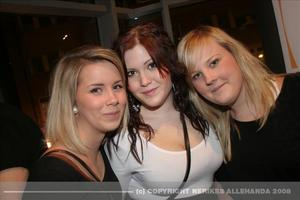 Amanda Elefelt, Alexandra Krafve och Jenny Thuresson.