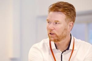 Kokpunktens verksamhetschef Johan Björkman.