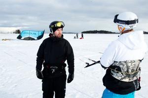 Mikael Zell och Emil Gustafsson brinner för sitt intresse.