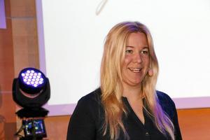 Camilla Ljunggren menade att alla kan bli entreprenörer.