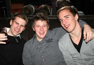 Konrad. Fredrik, Jocke och Thomas