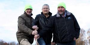 Första spadtaget avklarat för ny Harbomack.Fotograf: Ulrika Isaksson