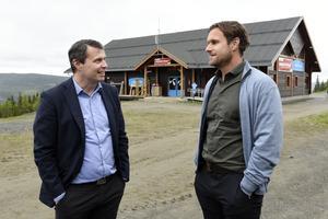 Daniel Kindberg, entreprenör och ordförande i Östersunds FK, driver projektet tillsammans med Markus Näslund.