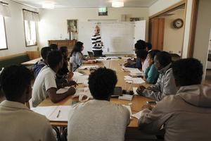 SFI- undervisning.