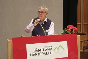 Christer Siwertsson (M), regionråd och  förste vice ordförande i regionstyrelsen.