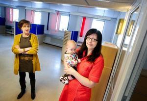 Initiativtagarna Malin Palmqvist och Marie Simonsson tror att det behövs flexibla arbetsplatser för egna företagare.Foto: Håkan Luthman