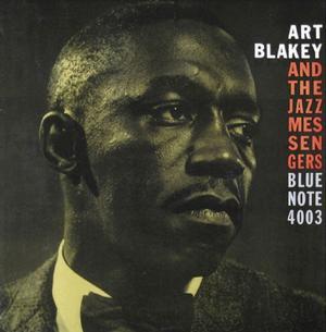 Skivomslaget på Blue Notes skiva nummer 4003 med Art Blakey från 1958 som gett namn åt Jonas Holgerssons nya skiva.