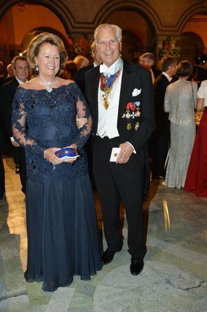 Anders Wall med fru Charlotte.
