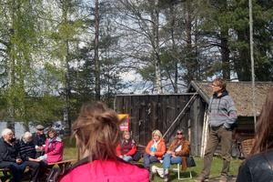 – Regissören Martin Lindström presenterade en del nyheter och gav inspiration inför sommarens Ingmarsspel i Nås.