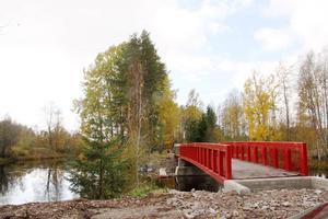 Bron över Jularboån.