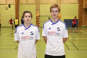 Andreas Larsson och André Rydén i ny klubbdräkt.