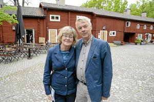 Ingalill och Stigbjörn Bergensten ... Foto: Anders Erkman