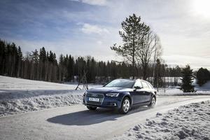 Isiga vägar är A4:ans rätta element. Quattrotekniken är den i särklass bästa fyrhjulsdrivningen.