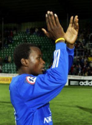Ali Gerba gjorde det viktiga 1-0 målet och visade vägen för Giffarna i segermatchen mot Häcken.