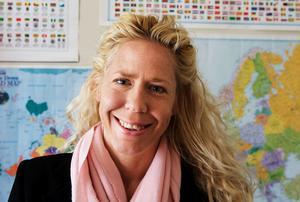 Catharina Enhörning, lokalpolitiker i Falun och en av initiativtagarna till falupolitikernas manifestation den 1 maj.