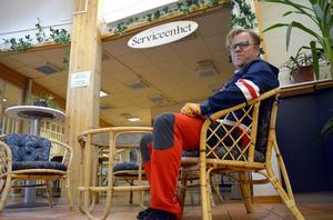 Hasse Karlsson är beredd att investera två miljoner kronor i Samservice, men budet på fastigheten är inte fullt ut vad Åfa satt som lägsta gräns.