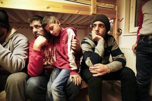 Mohamad Katous med sönerna Abdelay och Mouner vill starta ett nytt liv i Sverige.