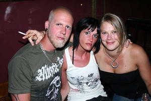 Pitchers. Patrik, Camilla och Karin
