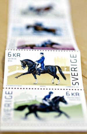 och på höstens nya frimärken.